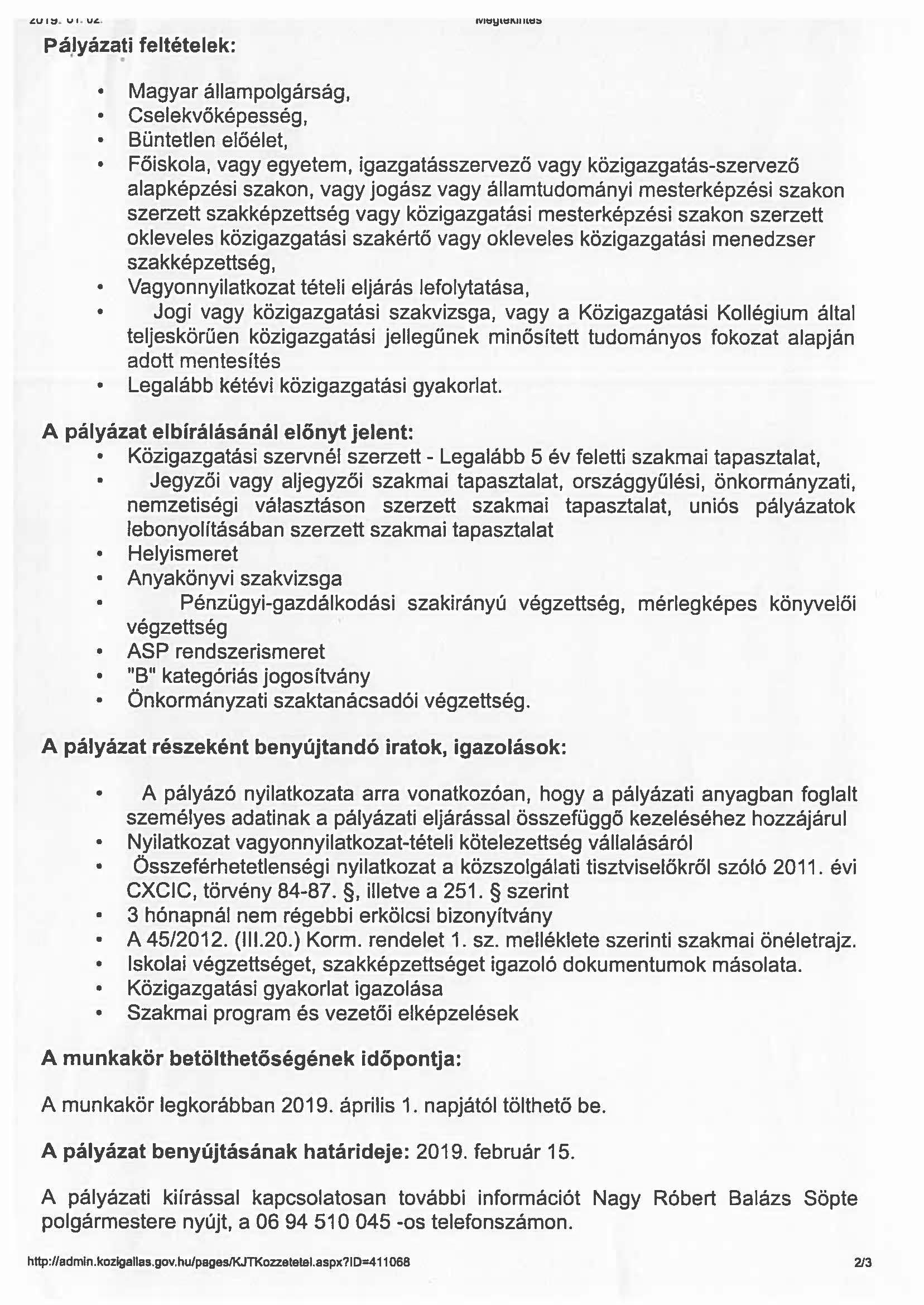 közszolgálati önéletrajz 2019 sopte.hu   Hírek, információk   Jegyzői álláshirdetés közszolgálati önéletrajz 2019